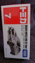 トミカ旧7   旧スバルインプレッサWRX STI 4ドア 未開封 新品販売終了