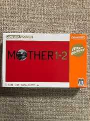 マザー1+2 美品 箱取扱説明書付き GBA MOTHER1+2