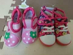 女の子 靴 14�p