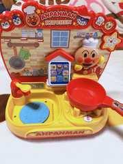 中古訳ありスマートアンパンマンキッチン おもちゃ