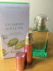 送料無料!エルメス 魅惑の香り 5ml 小分け EDT:トワレ「ナイルの庭」