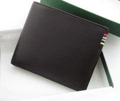 新品/箱付 ポールスミス コントラストインサイド 二つ折財布 2fr