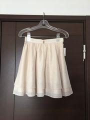 ウィルセレクション リボン型押し上品スカート タグ付き新品