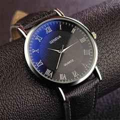 ☆高級感 メンズ ファッション 石英時計 黒+黒