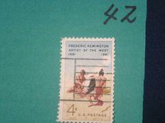 外国の切手 「アメリカ」 (42)