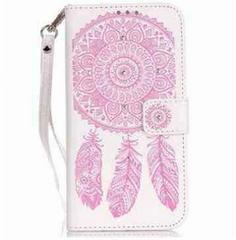 iPhone6/6s iPhoneケースカバー 手帳型 ホワイトピンク 人気