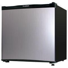 1ドア 冷蔵庫 WR-1046SL シルバーヘアライン 46L WR-1046SL