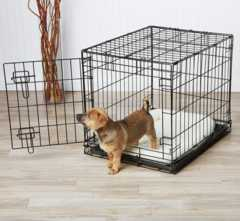 【送料無料】 折りたたみ式ドッグケージ シングルドア 犬用