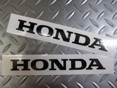 HONDAホンダステッカー黒★送料無料★CB250NCBR400FCB400Fジェイド