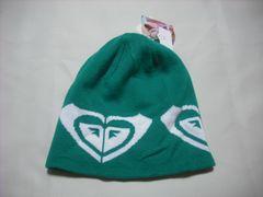 wb251 ROXY ロキシー ニット帽 グリーン