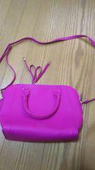 COCODEAL(ココディール)バッグ・未使用品・濃いピンク色