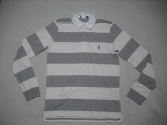 ow173 女 RALPH LAUREN ラルフローレン ラガーシャツ Mサイズ
