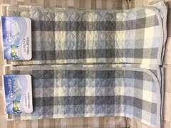 快眠&快適!『しじら織り』綿100%敷きパッド2枚組