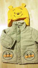 激安スタ使えるップーサン帽子+アンパンマンダウンジャケットまとめ売り福袋80