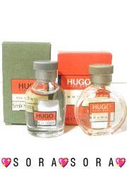 ペア香水【ヒューゴボス】ヒューゴ+ヒューゴウーマン2点セット