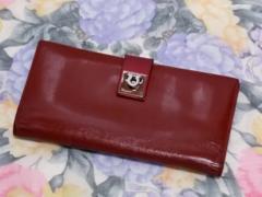 ●○ 送料無料 本物! (Ferragamo) 本革二つ折り財布 ○●