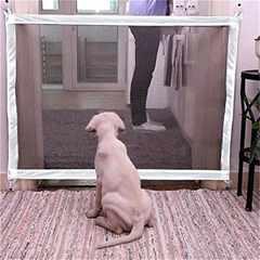 モバオクで買える「ペットゲート ベビーゲート 多用途 72-120cm」の画像です。価格は2,099円になります。