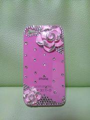 キラキラiphone4&4S用ケース!ピンク色♪