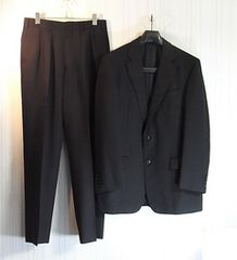 sizeL☆美品☆バーバリー ロンドン 2釦スーツ ブラック