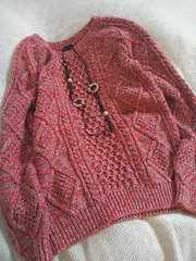 〇GAP〇ミックスピンク色がかわいいニット*・°美品