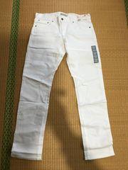 UNIQLOユニクロホワイトジーンズ新品未使用タグ付き34インチ