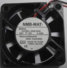 NMB-MAT/60mm角DC24V用ファン薄型9枚羽2個1口,未使用品4.12