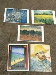 限定★ゴッホと日本展ポストカード5枚★ジャポニズム浮世絵