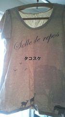Tシャツ!動物イラスト