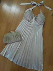 ANAP Latina ドレス ワンピース 結婚式 プリーツ リボン