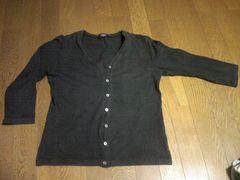 ユニクロ/カーディガン/上着/長袖/黒/Mサイズ