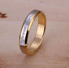 人気 個性的デザインリング 指輪 華奢リング(A-8サイズ)