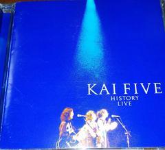 CD KAI FIVE HISTORY LIVE 帯なし 甲斐バンド 甲斐よしひろ