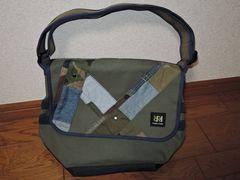 新品DOUBLE R HAMPUダブルアールハンプ ショルダーバッグ鞄