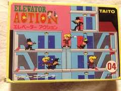 エレベーターアクション 箱説有 ファミコン TAITO