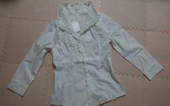 any SIS 白のブラウス 新品 長袖 サイズ2