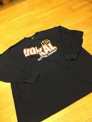 VOKAL   デザインプリントロングTシャツ  size3XL  紺ネービー