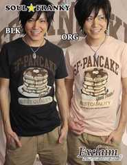 SOUL☆FRANKY 梅しゃん私物 PANCAKE Tシャツ/S