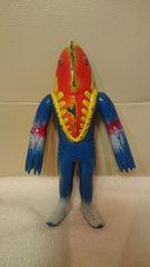 貴重!当時モノ ウルトラマン ソフビ怪獣 メトロン星人 日本製 バンダイ 1983送込