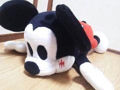 ミッキーマウスLove Loveシリーズ☆メガジャンボ寝そべりぬいぐるみ50�p
