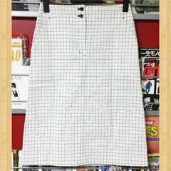 購入15000円 HUMAN WOMAN ヒューマンウーマン 新品 スカート S チェック