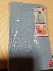 ユニクロ UネックT ヒートテック(長袖)90新品