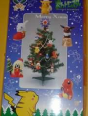 マニア向けポケモンクリスマスツリーピカチュウイーブイミュウヒトカゲ人形飾りデコオーナメントライト