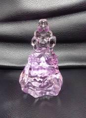 新品*アクリルアイス*プリンセス*クリスタル*紫*フィギュア*姫