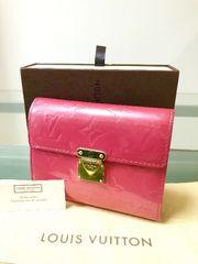 1円 ◆正規品◆箱付◆ 美品 ◆ ルイヴィトンヴェルニピンク 財布