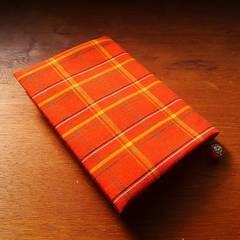 文庫用ブックカバー(手作り・手縫い)
