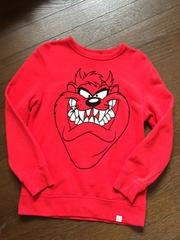 GAP×LOONEY TUNES☆TASMANIAN DEVILトレーナー