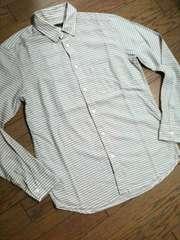 美品HARE デザインボーダーシャツ 日本製 ハレ