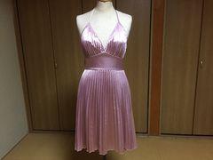 クリーニング済☆ワンピース ドレス 結婚式 二次会☆ピンク☆6