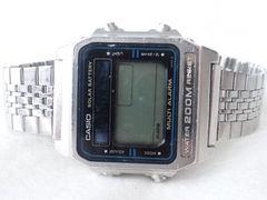 4675/CASIOカシオ★アラーム機能搭載モデルDW-2000デジタル表記腕時計