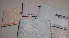難あり★KIS-MY-WORLD(初回A 2CD+DVD)/KIS-MY-FT2